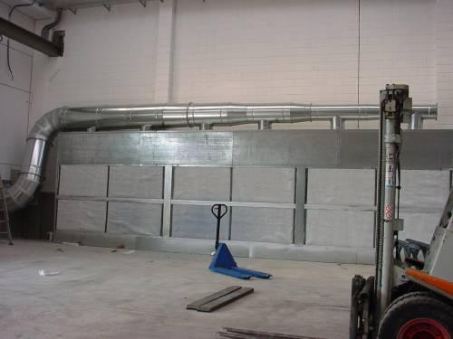Pareti aspiranti cabine verniciatura impianti con for Filtro per cabina di fusione ford